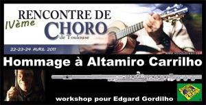 Rencontre de Choro Toulouse Hommage a Altamiro Carrilho workshop Edgard Gordilho do Choro na Praça